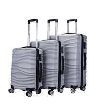 Grote aluminium trolley pilot reizen box bagage koffer sets <span class=keywords><strong>doos</strong></span>