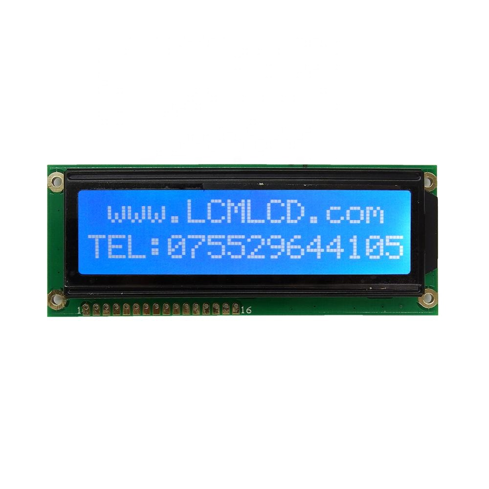 TCC(1602J) winstar custom 16x2 module 16pin 8-bit parallel iic interface screen 1602 lcd character display