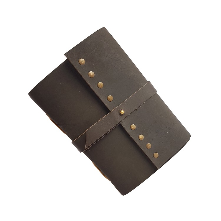 Custom diary printing recycled leather journal Guangzhou supplier 2020 wholesales design handcrafted leather journal buffalo