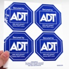 Custom Private Design Sticker for Window Double Sided Adhesive Stickers