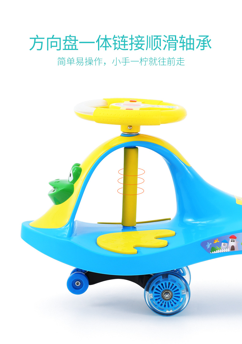 Chinese supplier 2017 new baby swing roller / kids happy swing car with hauling rope / children swing car best price for sale