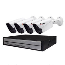 H.265 4CH 1080P POE NVR CCTV System kit 2.0MP Outdoor Ip-kamera HD 1080P NVR Recorder Video Sicherheit kamera Überwachung System