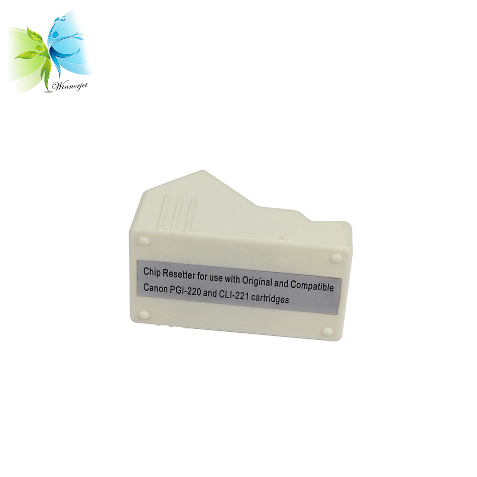 Excellent Cheap chip resetter for CANON PGI-220 CLI-221 cartridge for canon PIXMA IP3600 IP4600 IP4700 printers