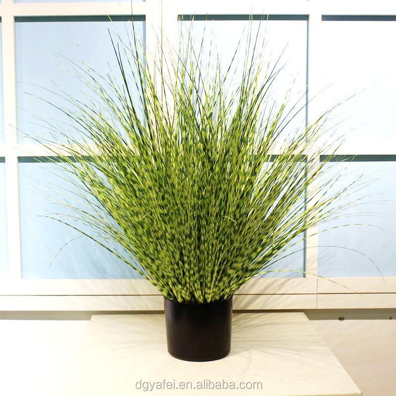 Evergreen Artificial Simulation Onion Reed Grass Bonsai ...
