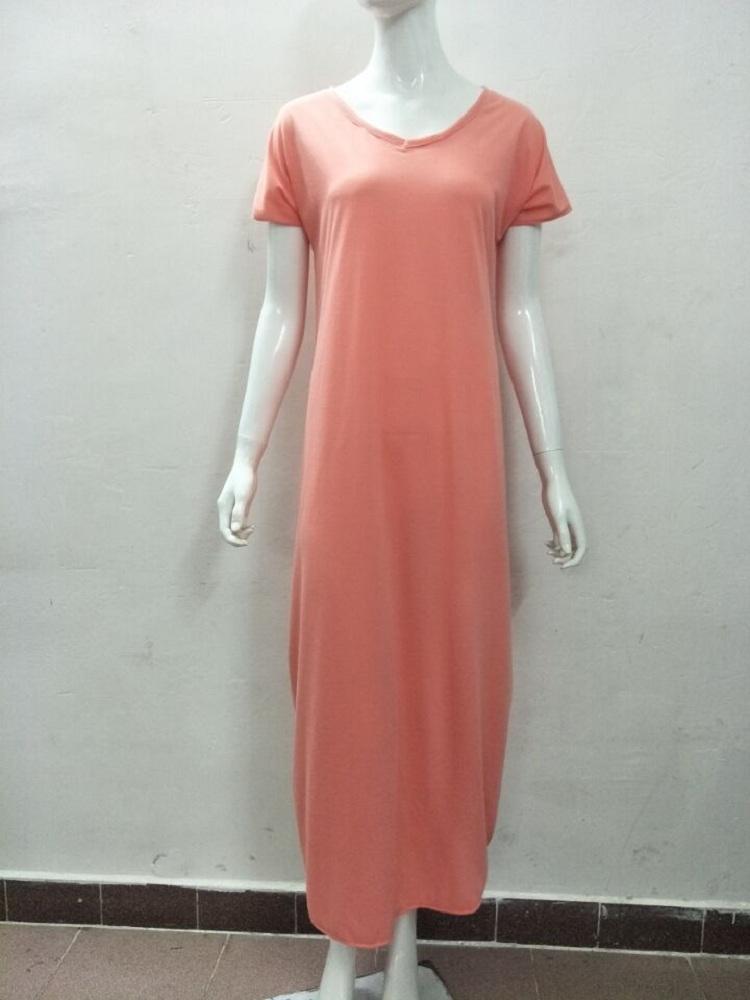 YHQZ305 Women Sexy Long Loose Casual Summer Beachwear Tie Dye Hippy Beach Sundress Holiday Dress