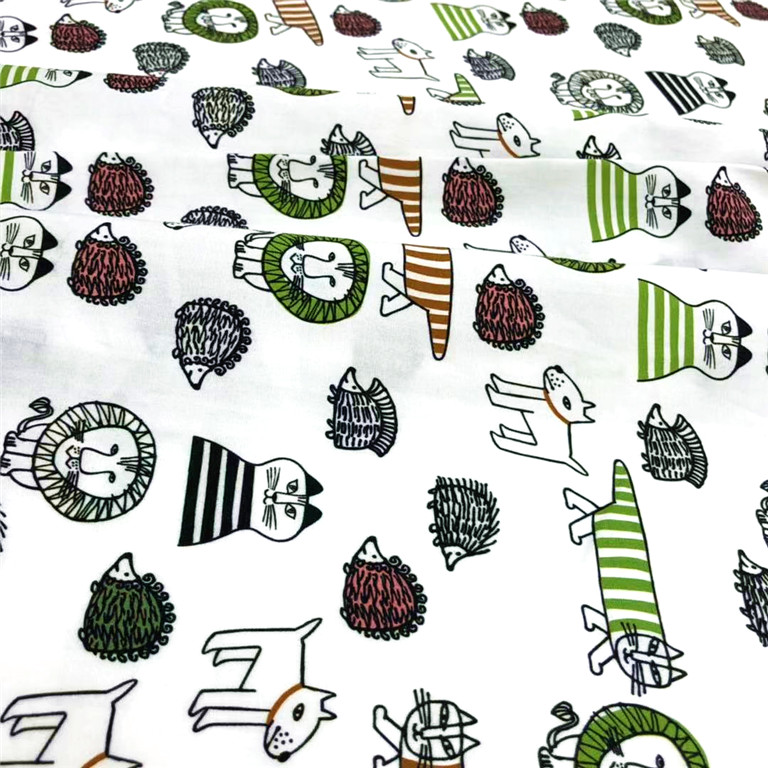 Custom reliable quality digitally printed cotton fabric