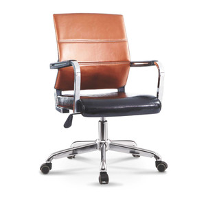 Luxury Pu Leather Metal Frame Swivel Office Chair Adjustable Height 200kg Ergonomic Office Chair Office Furniture