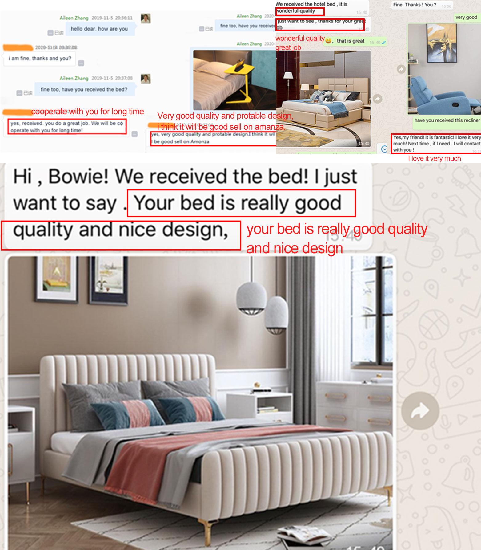 Düşük ayak döşemeli yatak odası mobilyası King size ayarlanabilir ahşap çıtalı otel divan yatak tabanı 190*140