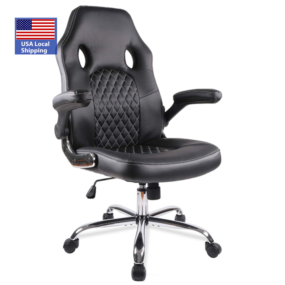 USA Local Shipping high-back adjustable height racing office gaming chair for pc computer gamers