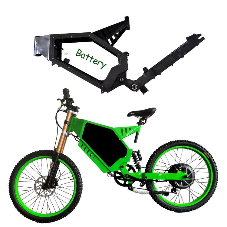 strong cover electric fat tire bike frame full suspension DNM fork for mountain bike frame