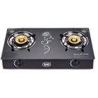 Cheap price oem commercial household home kitchen portable glass panel table top double 2 burner gasstove gas cooker stove