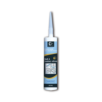 White and Clear 300ml Acid Low Modulus bathroom silicone sealant in China