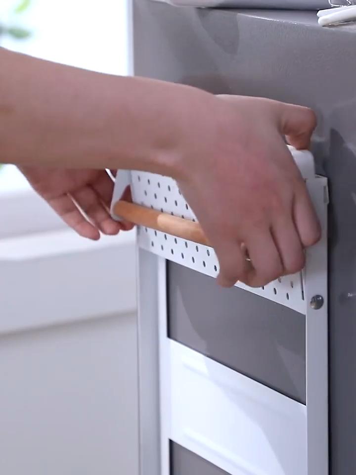 Neue Ankunft Lagerhalter & Racks Seite Kühlschrank Organizer, 2020 Neue Heimgebrauch Kühlschrank Lagerung Rack