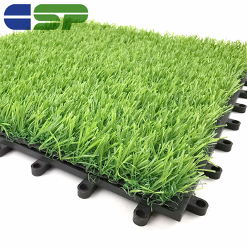 Wholesale artificial landscaping grass/synthetic turf interlock for inside