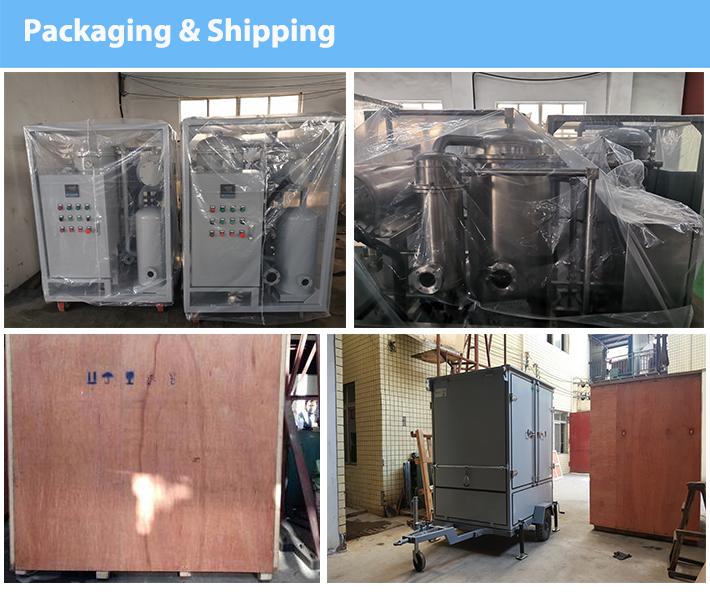 Makine yağ filtresi için kullanılan motor yağı arıtma/Küçük sanayi Dişli hidrolik türbin yağı temizleme makinesi