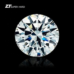 Wholesale 6.5mm 1.0 ct loose round cut lab grown hthp diamonds 1 carat vvs1 vs1 si1 clarity cvd diamond price