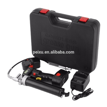 Professional High Power 10000psi Grease Gun Cordless Battery 18V 107cm 8000PSI Heavy + 2 Batteries