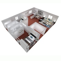 Luxury 2 bedroom prefab homes design modern cheap prefab homes for sale