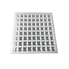 Heavy duty abdeckung block kunststoff form/beton spacer form