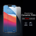 High Clear Anti-Fingerprint Full Cover 9H Tempered Glass Film For iPhone 12 pro max screen protector