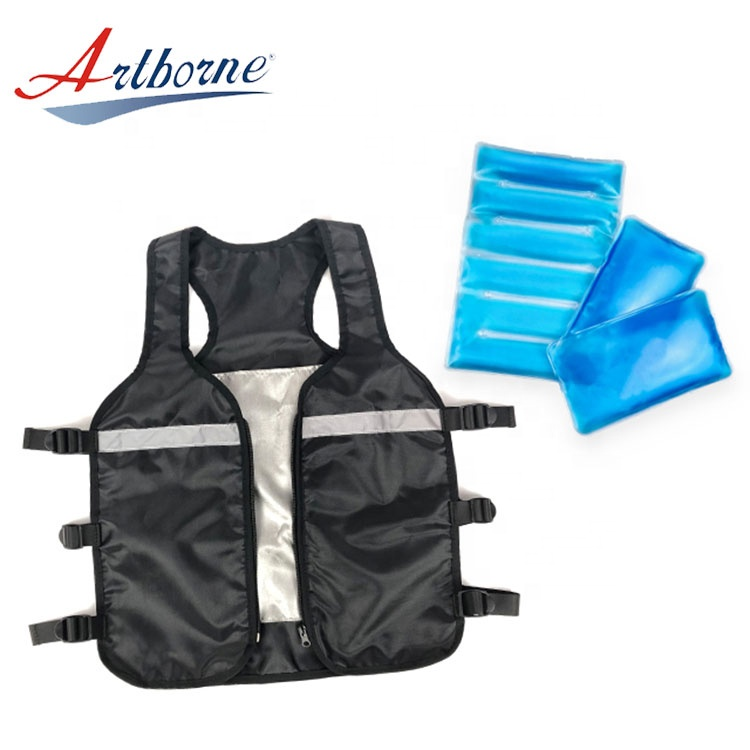 industrial refrigeration man dry phase change body ice gel cooling vest with liquid ice gel pack pad - KingCare | KingCare.net