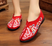 Traditional Popular High-quality chinese embroidered shoes women's shoes fasion