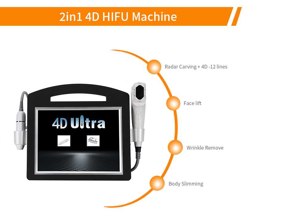 Winkonlaser 4d hifu face lift ultrasound device