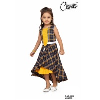 Design skirt top for girls