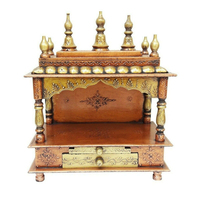 Pooja mandir wooden temple wooden mandir for home