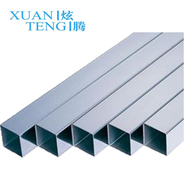 China Manufacturer Anodized Aluminium Square Tube With Good Quality