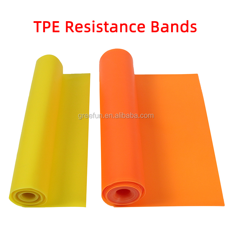 Chinese New Design Tpe Pull Up Resistance Bands Muscle Strength Training Fitness Custom Color And Packaging
