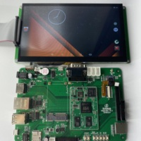 lcd tv main board with sim card 4G module headset HDMI interface