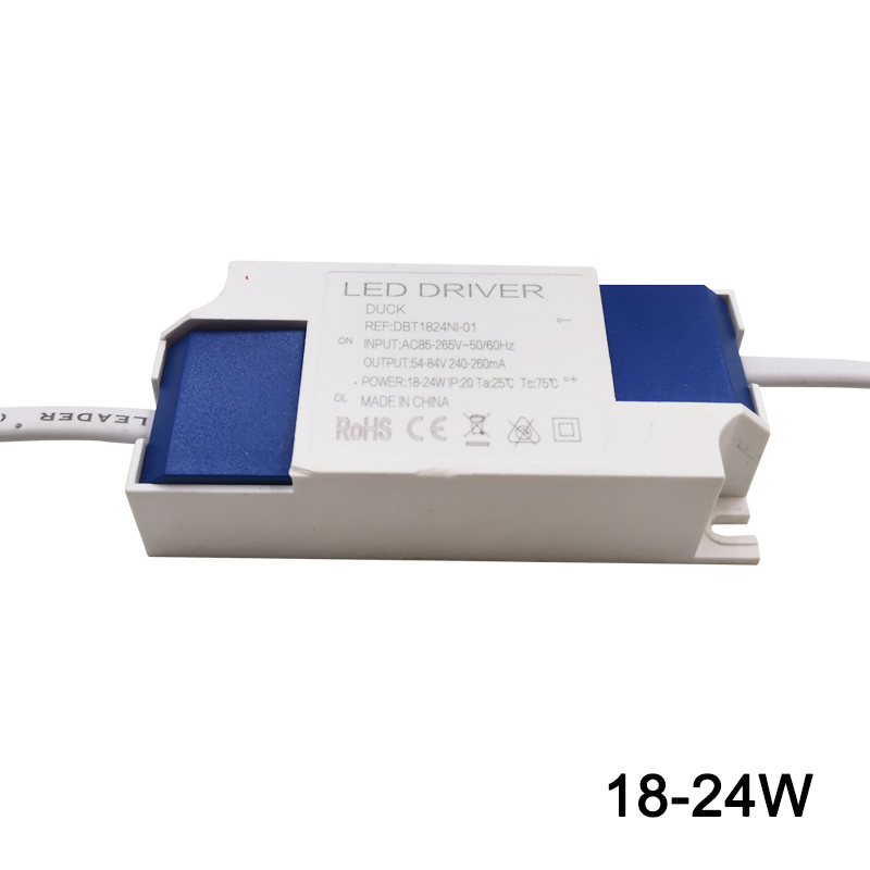 1-36W LED Lighting Transformers High Quality Safe Driver AC85-265V Constant Power Supply LEd driver for LED Lamp/ Strip