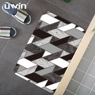 UWIN 2020 new design pvc bath mat bathtub mat with suction cups