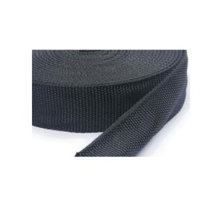 Nylon textile protective sleeve for hydraulic hoses