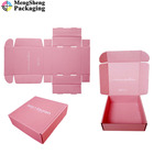Myanmar Carton Packaging Shipping Lid Packing E-Commerce Pink Plastic Handle Price Calculation Moving Box Corrugated