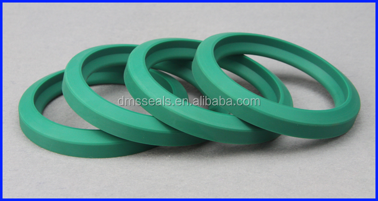 High Pressure Polyurethane Valve Rubber Seals  Application on Oil Field Mining Pumps