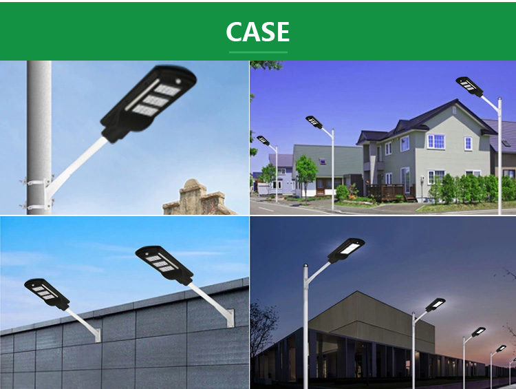40W All In One Outdoor Integrated LED Solar Street Lamp
