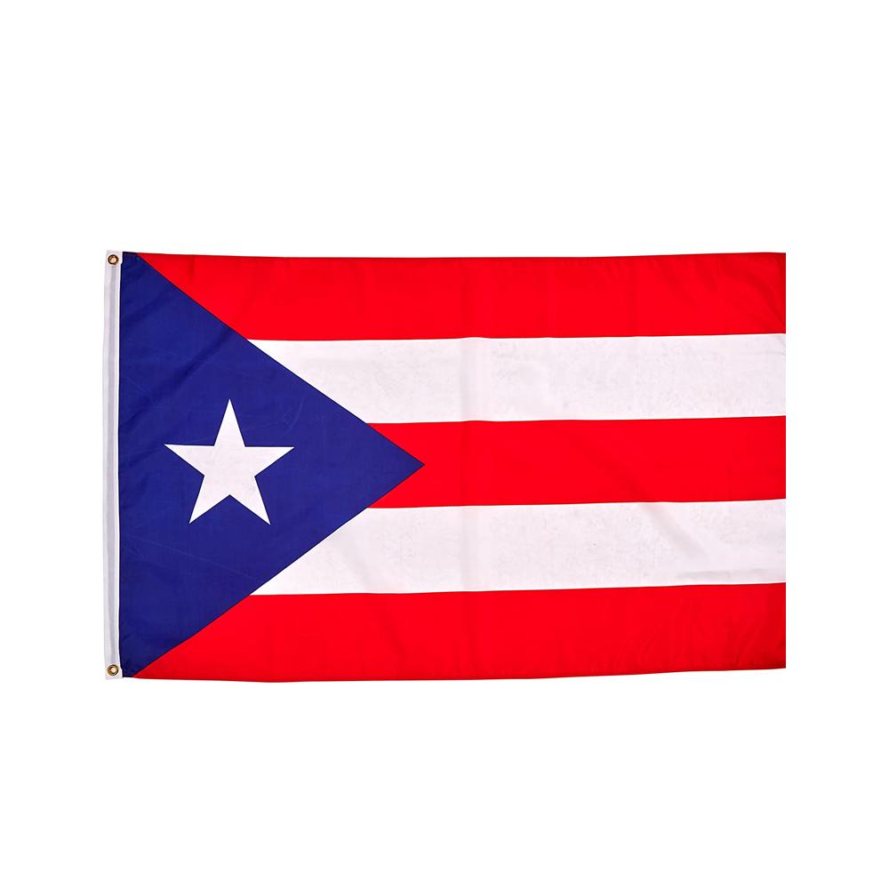 Manguitos de brazos personalizados de la bandera del cabo de Haiti, 90x150cm, 3 'x 5', festival de Música, Carnaval, banderas del Cabo