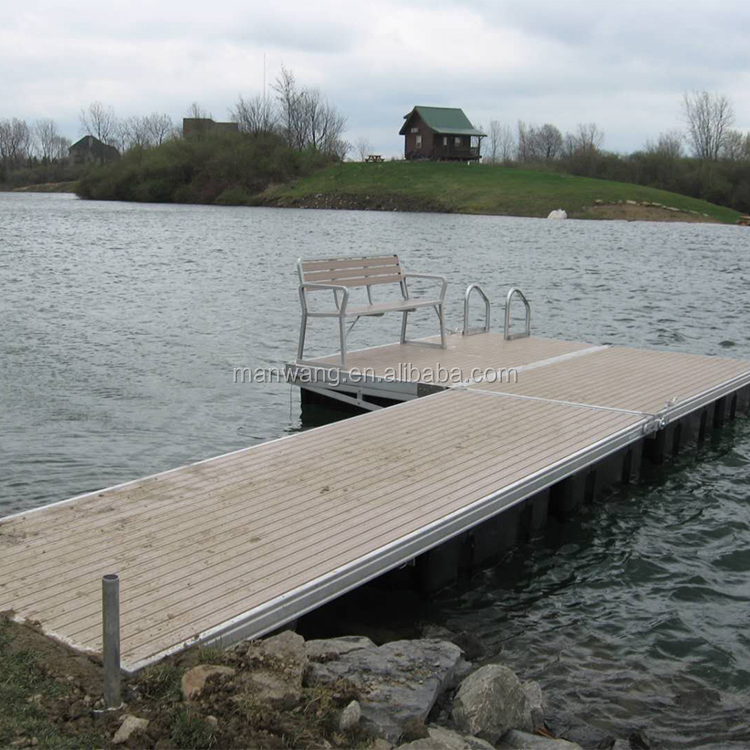 Best floating pontoon floats block in the water jetty dock design
