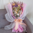 Natural Dried Flowers Valentine'S Day Girlfriend Lover Gift Fresh Cut Dry Flower Bouquet