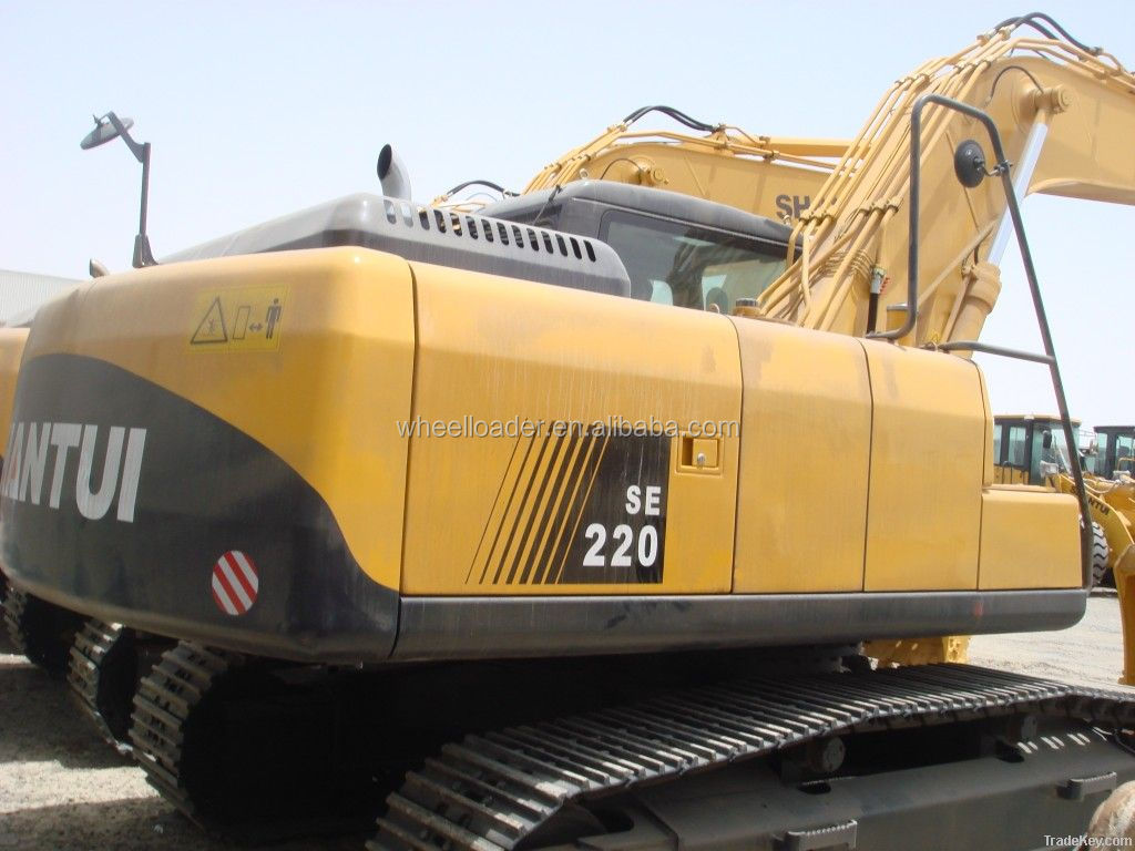 China Shantui Brand 20 Ton SE220 Crawler Excavator For Sale