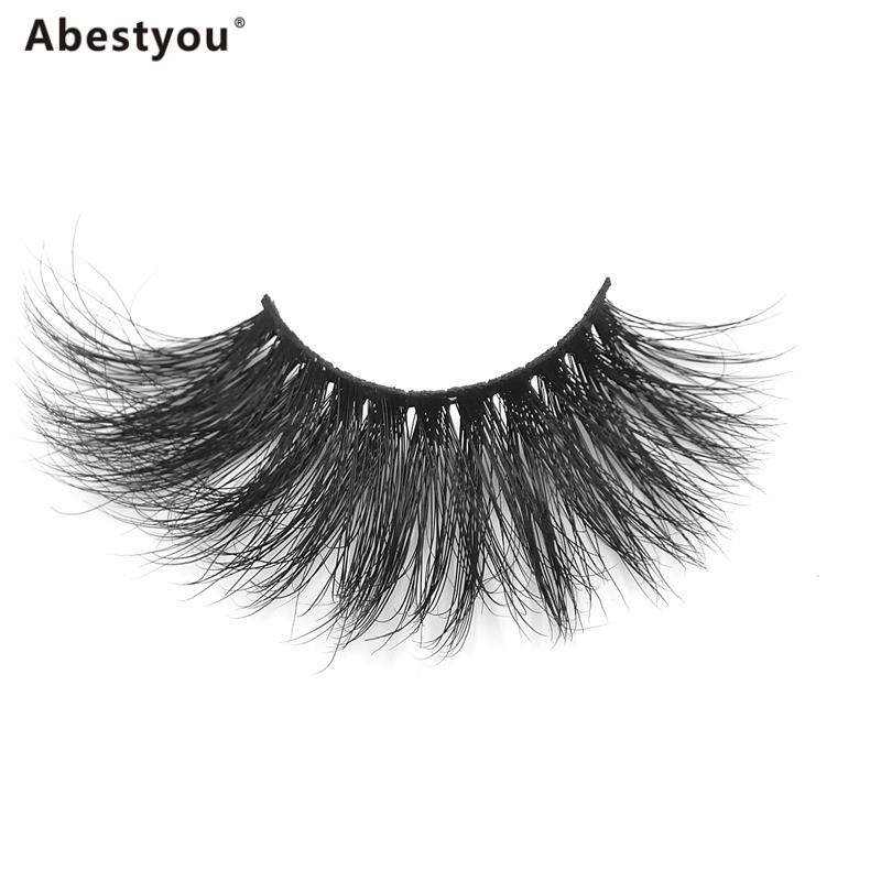 Abestyou Wholesale private label lashes custom logo 25mm mink eyelashes cases round eyelash packaging lashes box 3d eyelash