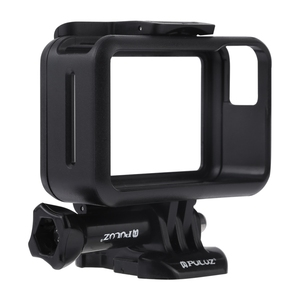 Factory Price PULUZ Standard Border Frame ABS Protective Cage for DJI Osmo Action, with Buckle Basic Mount & Screw(Black)