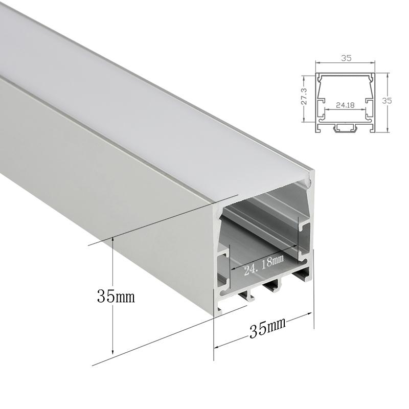 Shenzhen Surmountor Linear Light LED Strip LED Lighting Aluminium Profile