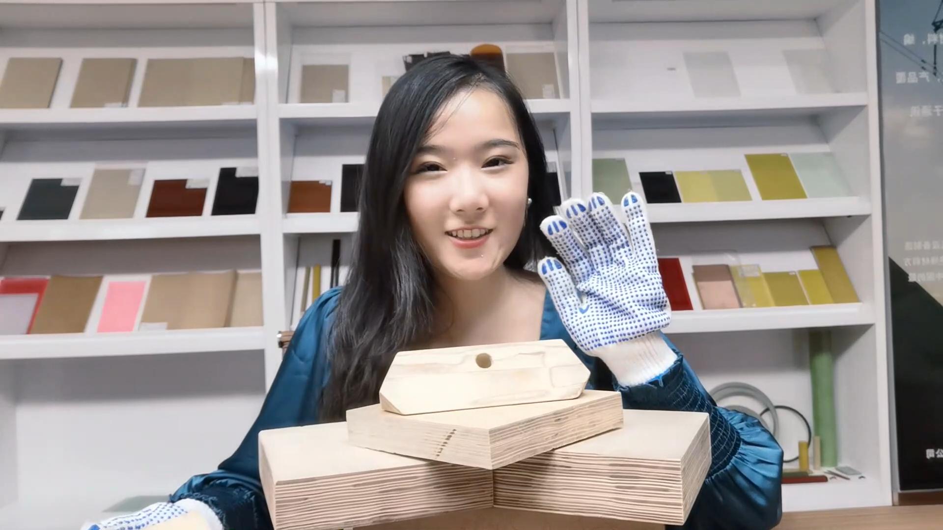 דיקט ליבנה לוחות עץ למינציה עבור שנאי בידוד חשמלי