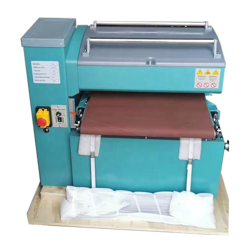 Woodworking tools drum sander machine polishing with wide brush belt sanders for wood buffing