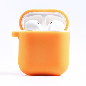 Newest 2019 AirPod Case York Yellow Protective Silicone Compatible 2 and 1 AirPods Wireless Charging Case