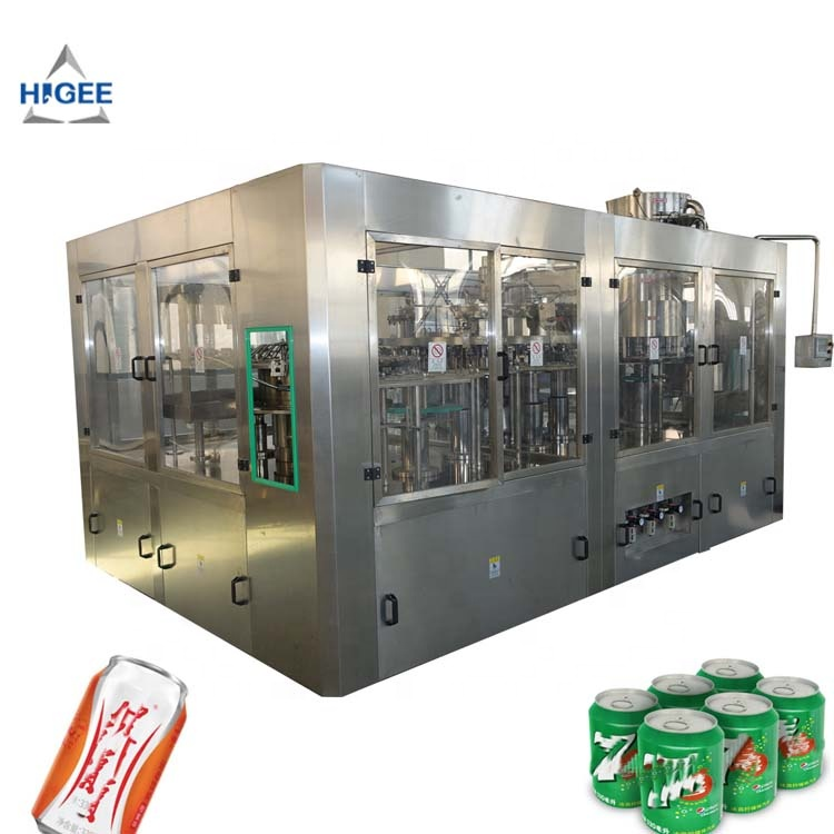 Supply tin kan drinken vulmachine/cola vulmachine/blik productielijn/sealer