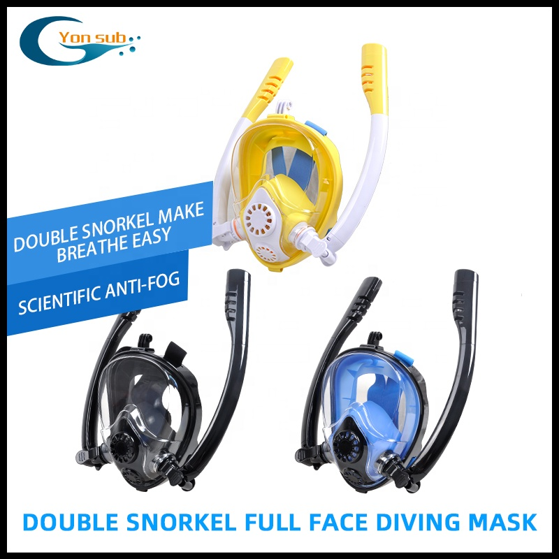 2019 New Design Full Face Snorkeling Mask With Double Tube 180 Degree View Anti-Fog Scuba Diving Mask (2).jpg